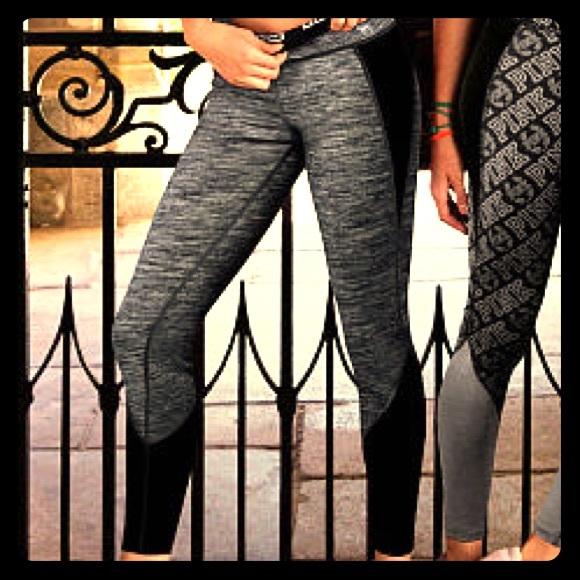 e86e8edafc PINK Victoria's Secret Pants | Pink Reversible Ultimate Leggings ...